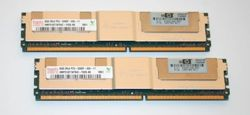 Memory RAM 2x 8GB HP Workstation xw8600 DDR2 667MHz ECC FULLY BUFFERED DIMM | 413015-B21