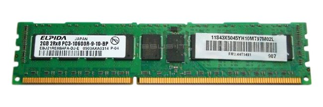 RAM ECC REGISTERED DDR3 RDIMM EBJ21RE8BAFA-DJ-E